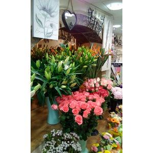 Intérieur du magasin coté fleur coupée