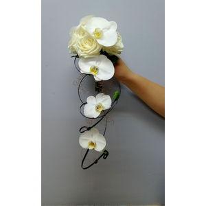 Bouquet de mariée structuré