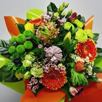 Bouquet bulle multicolore